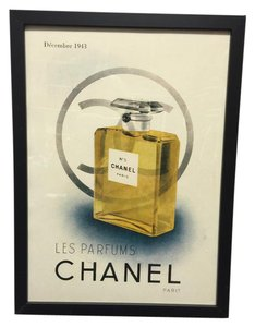 Chanel Advertising print from the 1930s