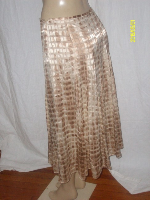 Jones New York Maxi Skirt Tan
