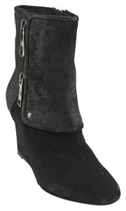 Dior Christian Guetre Suede Black Boots