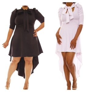 short dress Black or white on Tradesy