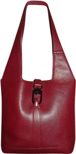 Delvaux Royalty Burgundy Shoulder Bag
