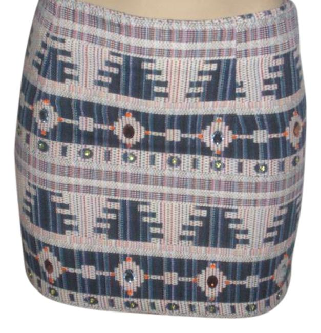 Preload https://img-static.tradesy.com/item/15719017/english-rose-multicolor-color-woven-textile-fully-lined-rhinestones-decor-mini-miniskirt-size-8-m-29-0-1-650-650.jpg