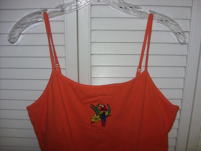 Falls Creek FALLS CREEK SPAGHETTI STRAP BRA TOP M ORANGE