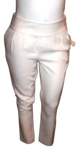 Halston Trouser Pants WHITE
