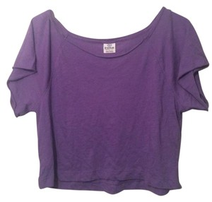 Victoria's Secret Pink T Shirt Purple