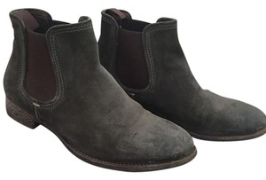 n.d.c. Suede Ankle Bootie Gray Boots