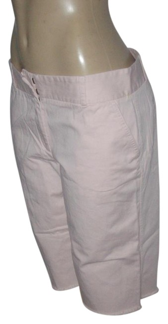 Preload https://item2.tradesy.com/images/jcrew-pale-pink-new-without-tags-cotton-cut-off-shorts-size-12-l-32-33-15719626-0-1.jpg?width=400&height=650