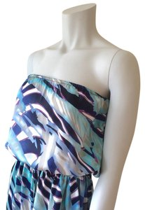Blue Purple Maxi Dress by Romeo & Juliet Couture
