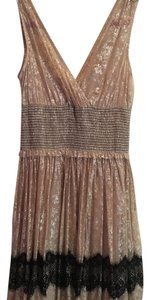 Free People Metallic Lace Dress