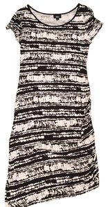 Mossimo Supply Co. short dress Black and white print on Tradesy