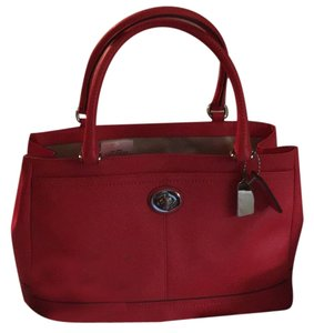Coach Learher Park Carryall Tote