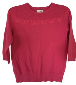 Elle 3/4 Sleeve Lace Light Weight Sweater
