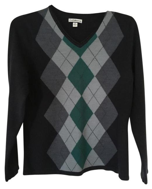 Preload https://item3.tradesy.com/images/croft-and-barrow-blue-sweaterpullover-size-8-m-15720112-0-1.jpg?width=400&height=650
