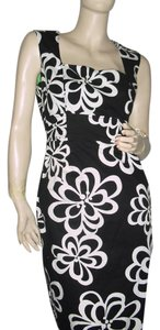 Jessica Howard short dress black white on Tradesy