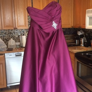 Alfred Angelo Berry Dress