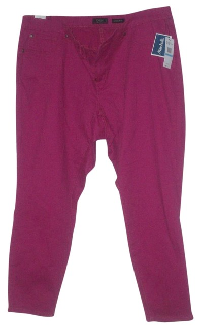 Preload https://item5.tradesy.com/images/jessica-simpson-pink-cotton-spandex-blend-ankle-junior-skinny-pants-size-20-plus-1x-15720499-0-1.jpg?width=400&height=650