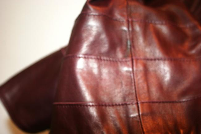 Temperley London RED Leather Jacket