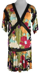 M Missoni short dress Multicolor Floral Print on Tradesy