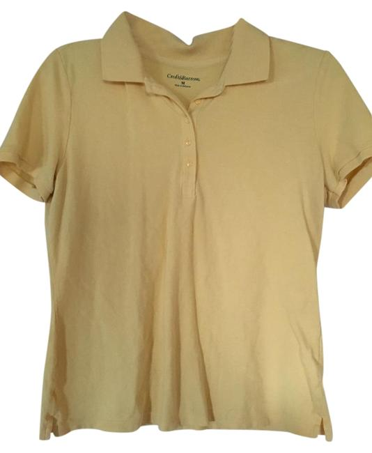 Preload https://item2.tradesy.com/images/croft-and-barrow-yellow-polo-blouse-size-10-m-15720631-0-1.jpg?width=400&height=650