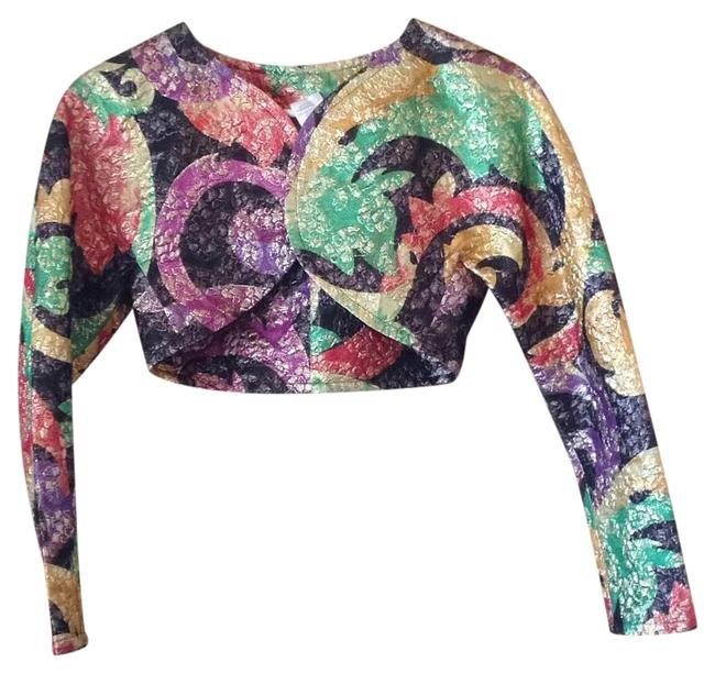 Preload https://item1.tradesy.com/images/purple-red-green-yellow-colorful-silk-bolero-spring-jacket-size-6-s-15720760-0-1.jpg?width=400&height=650