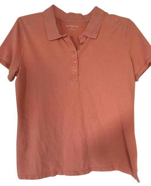 Preload https://item1.tradesy.com/images/croft-and-barrow-peach-polo-blouse-size-10-m-15720850-0-1.jpg?width=400&height=650