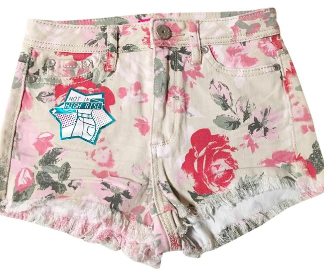 Almost Famous Clothing Mini/Short Shorts Floral