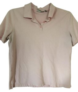 Croft & Barrow Polo Button Short Sleeve Golf Top Pink