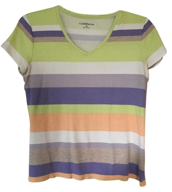Preload https://item4.tradesy.com/images/croft-and-barrow-multicolor-tee-shirt-size-8-m-15721048-0-1.jpg?width=400&height=650