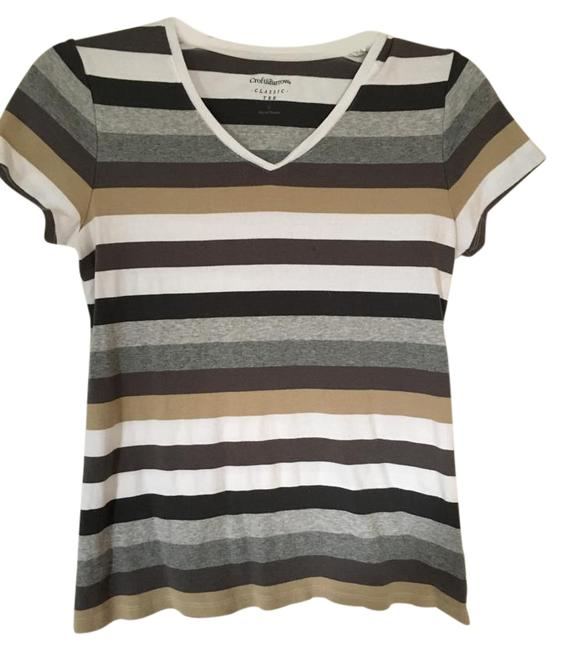 Preload https://item4.tradesy.com/images/croft-and-barrow-multicolor-tee-shirt-size-6-s-15721093-0-1.jpg?width=400&height=650