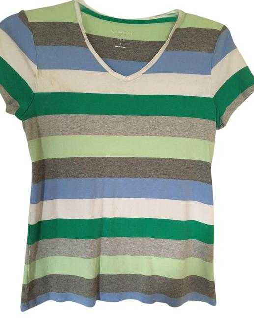 Preload https://img-static.tradesy.com/item/15721132/croft-and-barrow-multicolor-tee-shirt-size-6-s-0-1-650-650.jpg