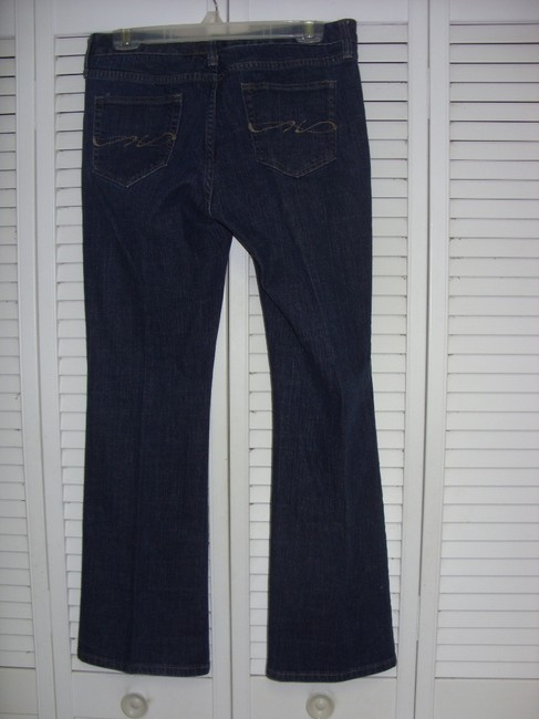 Tommy Hilfiger Boot Cut Jeans-Dark Rinse