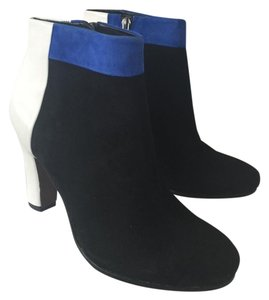 Sam Edelman Bootie Ankle Boot Black/blue/white Boots