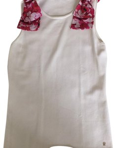 Carolina Herrera Top White/pink