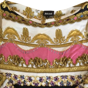 Roberto Cavalli short dress Multicolour on Tradesy