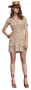 Reformation short dress Beige on Tradesy