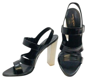 Narciso Rodriguez Black Sandals