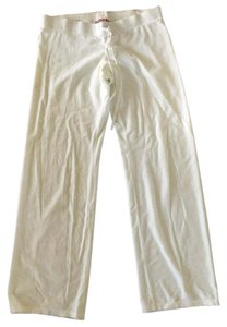 Juicy Couture Wide Leg Pants White