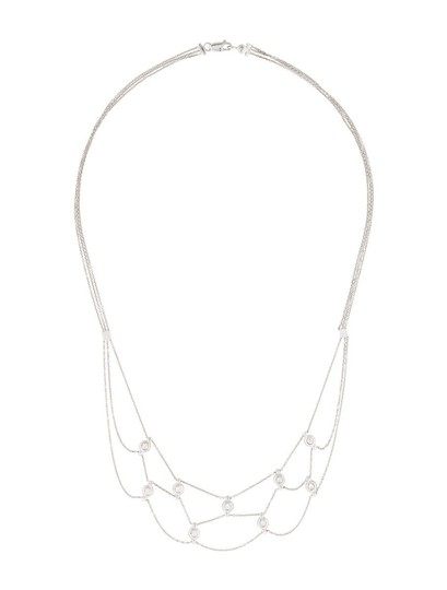 Preload https://item5.tradesy.com/images/estate-18k-white-gold-and-045ct-diamond-chain-necklace-16-15722944-0-0.jpg?width=440&height=440