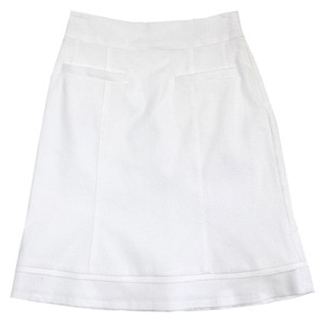 Nanette Lepore White Suit Skirt