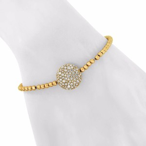 Other 1.57ct Diamond 14k Yellow Gold Bead Braclet