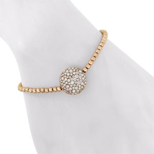 1.61ct Diamond 14k Rose Gold Bead Bracelet
