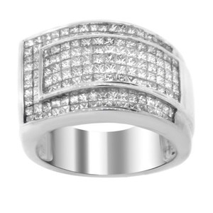 Other Estate 14k White Gold 3.50ct Pav Diamond Ring