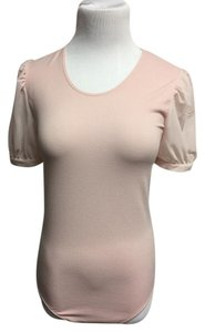 Wolford Bodysuit Top Pink