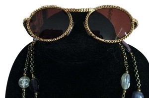 Moschino x Persol Vintage Moschino x Persol Gold-tone Sunglasses