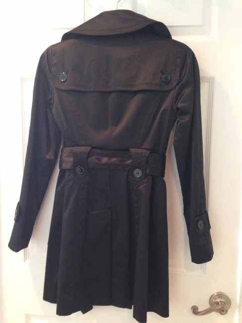 Jessica Simpson Satin Trench Coat