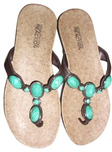 Kenneth Cole TURQUOISE Sandals