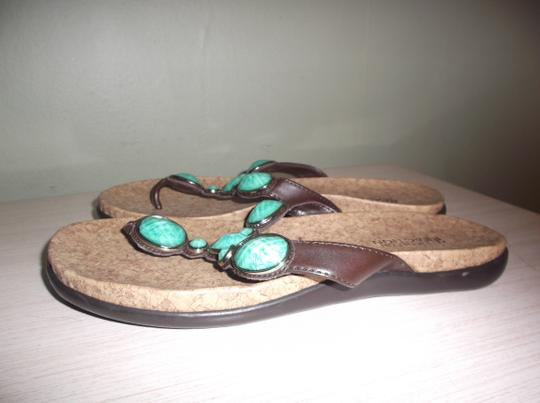 Kenneth Cole TURQUOISE Sandals Image 1