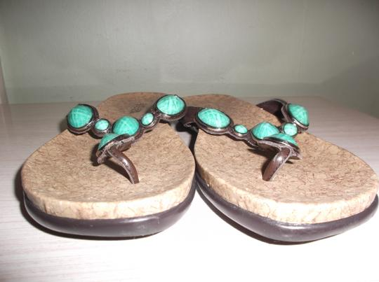 Kenneth Cole TURQUOISE Sandals Image 2