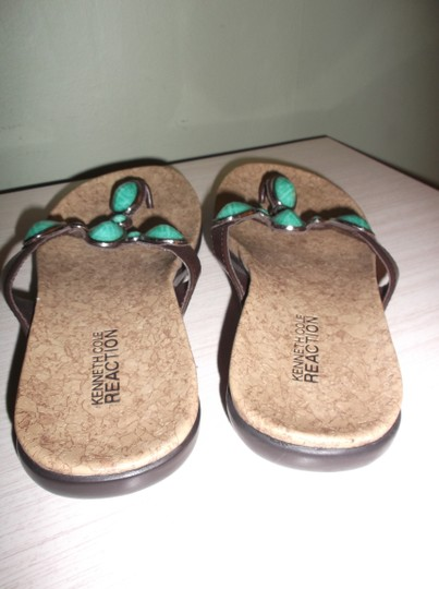 Kenneth Cole TURQUOISE Sandals Image 3