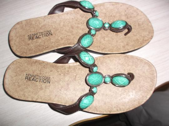 Kenneth Cole TURQUOISE Sandals Image 4